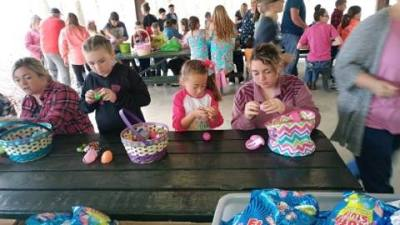 Easter Eggs treats are compared after our 2019 Easter Egg Hunt.